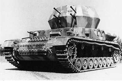 Mucho más conocido resulta el Flakpanzerkampfwagen 2 cm Flak 38 Vierling, aunque tampoco lo utilizó el III Flak Korps, sino las divisiones acorazadas.