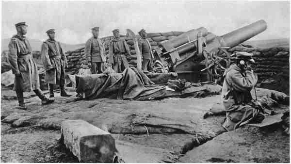 Posiciones de asedio niponas en China.