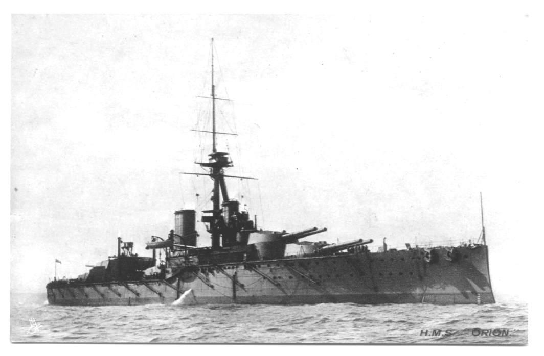 EL HMS Orion