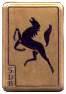 Emblema de la 5.ª División blindada francesa.